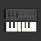 Touchez le piano Photos libres de droits