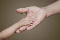 Touching each orther Stock Images