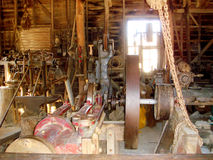 Old Gold Workshop @ Sovereign Hill, Ballarat Goldfields  Royalty Free Stock Image