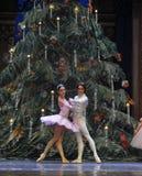 Touching love story-The Ballet  Nutcracker Stock Photo