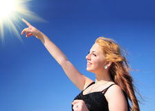 Touching the sky Stock Photography
