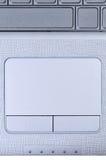 Touchpad de la computadora portátil Imágenes de archivo libres de regalías