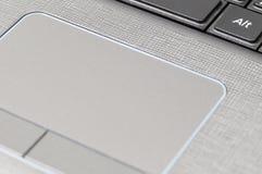 Touchpad de la computadora portátil Imagenes de archivo
