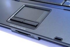 Touchpad del computer portatile immagini stock