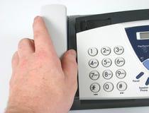 Touchpad fax/del telefono Fotografie Stock Libere da Diritti