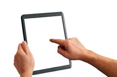 Touchpad PC Isolated Royalty Free Stock Image