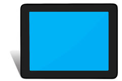 Touchpad PC (Tablet PC) Royalty Free Stock Photography