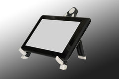 Touchpad or picture viewer on a stand Stock Photography