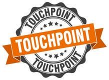 touchpoint σφραγίδα γραμματόσημο απεικόνιση αποθεμάτων