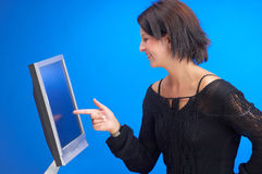 Touchscreen Royalty Free Stock Images