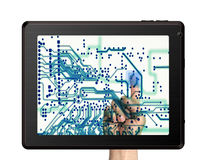 Touchscreen Stock Images