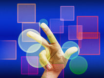 touchscreen Lizenzfreie Stockbilder