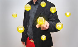 Touchscreen Royalty Free Stock Image