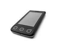 Touchscreen cell phone Royalty Free Stock Photography