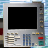 Touchscreen control panel Royalty Free Stock Photos