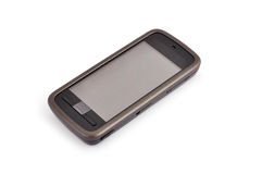 Touchscreen mobile phone Royalty Free Stock Images