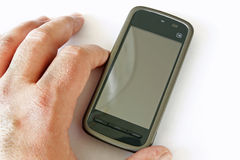 Touchscreen phone Stock Photography