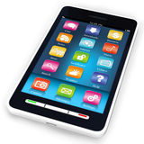Touchscreen smartphone Royalty Free Stock Photography