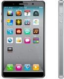 Touchscreen smartphone concept. Stock Photo