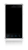 Touchscreen smartphoneconcept. Royalty-vrije Stock Afbeelding