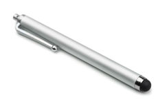 Touchscreen stylus Stock Photo