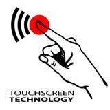 Touchscreen symbol Stock Photography
