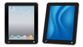 Touchscreen tablet computer Stock Photo