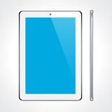 Touchscreen tablet concept. Royalty Free Stock Images