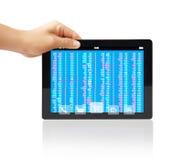 Touchscreen Tablet Stock Photos