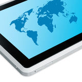 Touchscreen Tablet PC royalty free stock photography