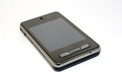 Touchscreen telefoon Stock Fotografie