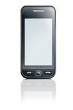 Touchscreen telefoon stock afbeelding