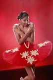Tough ballerina Stock Photography