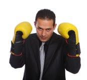 Tough Businessmen Stock Image