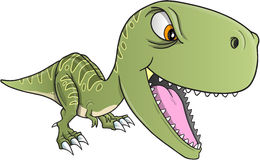 Tough Dinosaur T-Rex Vector. Illustration Art Royalty Free Stock Images