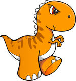 Tough Dinosaur Vector. Illustration Art Royalty Free Stock Photography