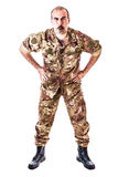 Tough Drill Sergeant Royalty Free Stock Images
