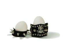 Tough eggs stock photography