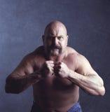 Tough Guy. Posing for a portrait Stock Image