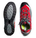 Tough hiking shoes and sole Royalty Free Stock Photography