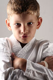 Tough kid Royalty Free Stock Images