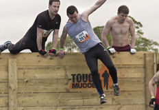 Tough Mudder First Hurdle Royalty Free Stock Photos