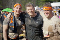 Tough Mudder: Happy Race Finishers Royalty Free Stock Images