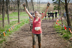 Tough Mudder: I Win Royalty Free Stock Images