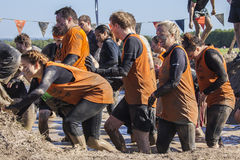 Tough mudder 2015 London South Royalty Free Stock Photo