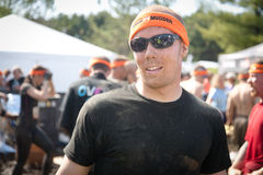 Tough Mudder: Runner Post Race Royalty Free Stock Photo