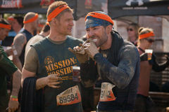 Tough Mudder: Runners After the Race Stock Photography