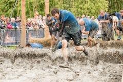 Tough Mudder 2015: Shocking II Stock Photography