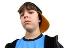 Tough young dude Royalty Free Stock Images