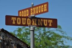 Toughnut & Good Enough Royalty Free Stock Photos